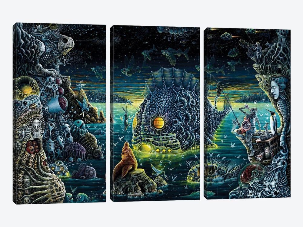 Night Trawlers by R.S. Connett 3-piece Art Print