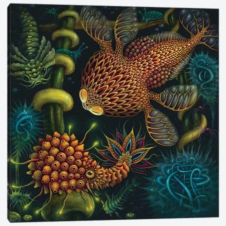 Planktonauts III Canvas Print #RCN24} by R.S. Connett Canvas Wall Art