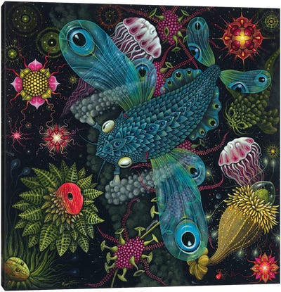 Planktonauts IV Canvas Art Print