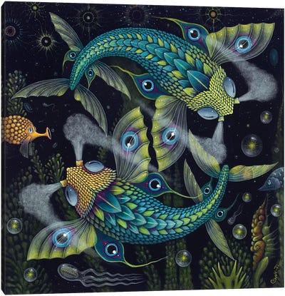 Planktonauts V Canvas Art Print