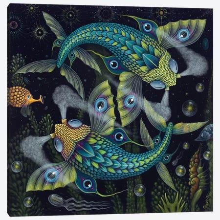 Planktonauts V Canvas Print #RCN26} by R.S. Connett Canvas Wall Art