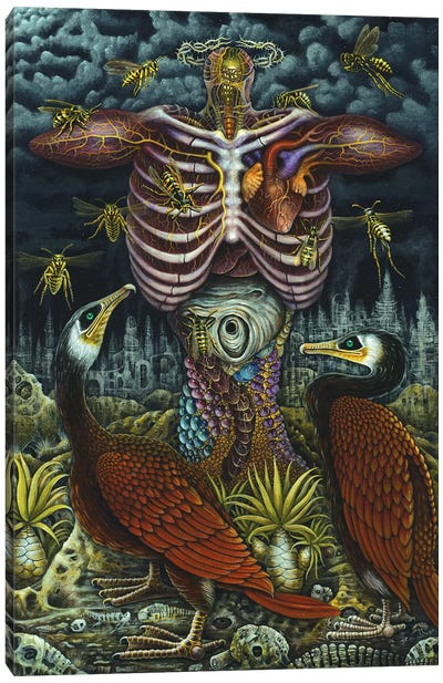 Resurrection Canvas Art Print