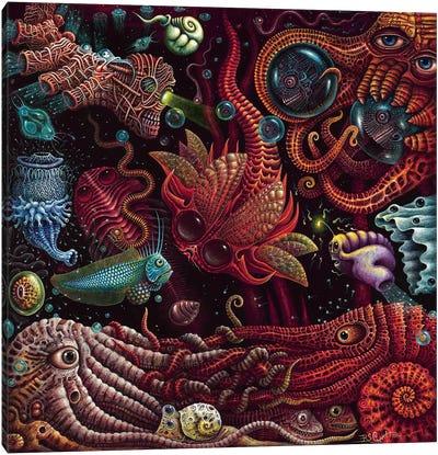 Crustaceapods Canvas Art Print