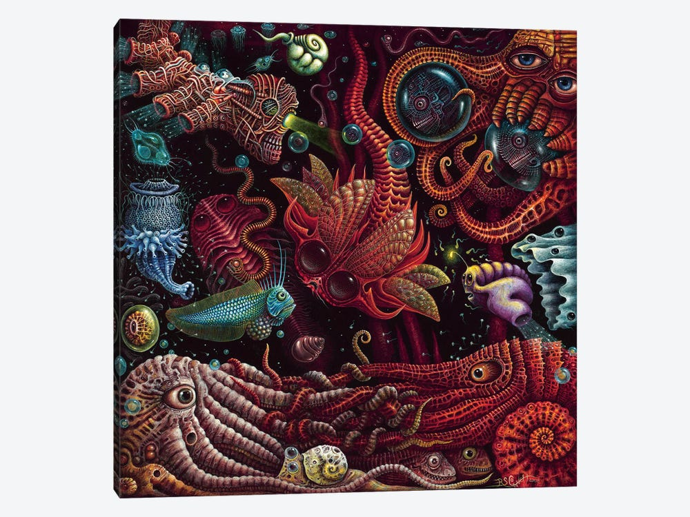 Crustaceapods by R.S. Connett 1-piece Art Print