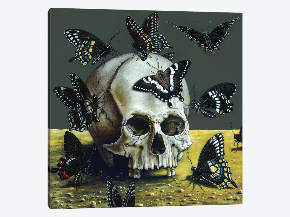 Dark Angels by R.S. Connett 1-piece Canvas Art