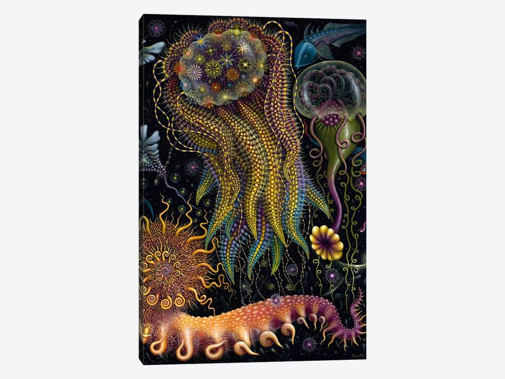 Devouring Starjelly by R.S. Connett 1-piece Canvas Art Print