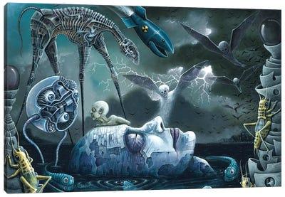 Dreams And Nightmares Canvas Art Print