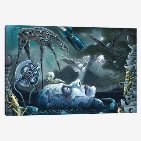 Dreams And Nightmares Canvas Print #RCN7} by R.S. Connett Canvas Print