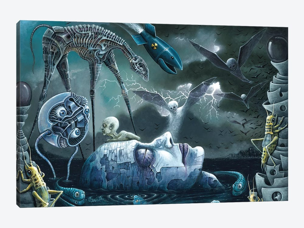 Dreams And Nightmares by R.S. Connett 1-piece Canvas Artwork