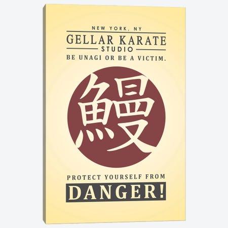Gellar Karate Canvas Print #RCS10} by Ross Coskrey Art Print