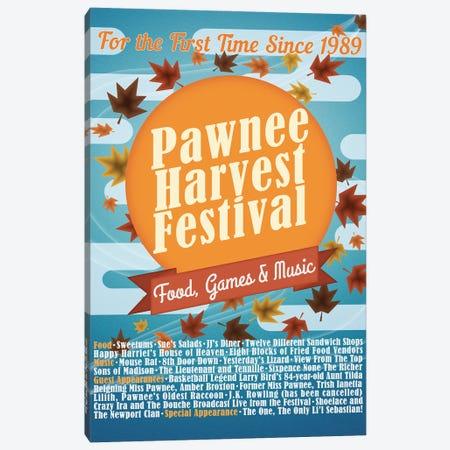 Pawnee Harvest Festival Canvas Print #RCS1} by Ross Coskrey Canvas Wall Art