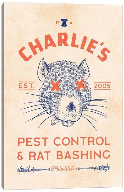 Charlie's Pest Control Canvas Art Print