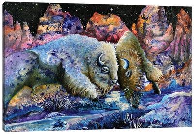 Badlands Canvas Art Print
