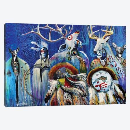 Shapeshifters Canvas Print #RDB12} by Red Bird Smith Art Canvas Art Print