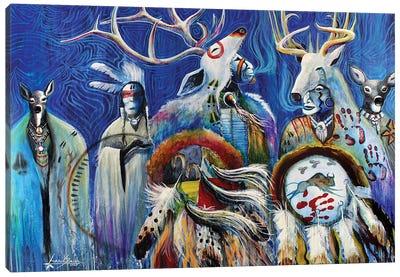 Shapeshifters Canvas Art Print