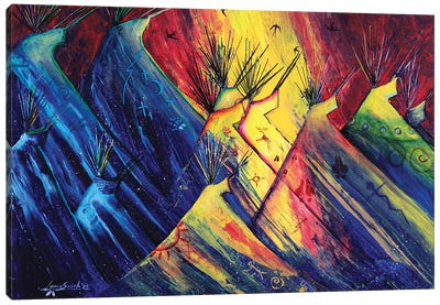 Firefly Canvas Art Print