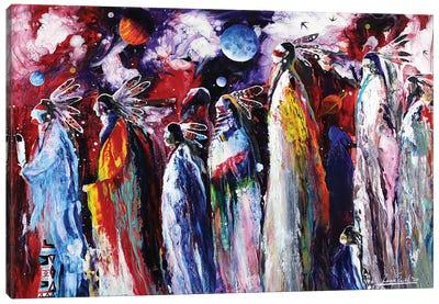 Cosmosis Canvas Art Print