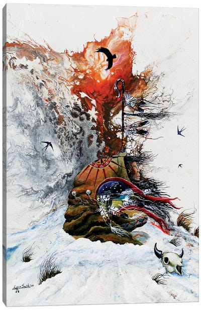 Deaths Whisper Canvas Art Print