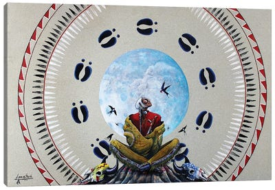 Prairie Whisperer Canvas Art Print