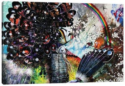 Rainbow Warrior Canvas Art Print