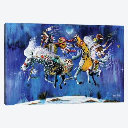 Winter Solstice Canvas Print #RDB27} by Red Bird Smith Art Canvas Art Print