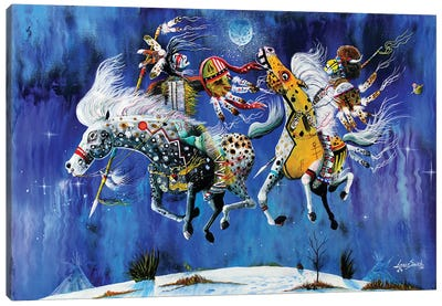 Winter Solstice Canvas Art Print