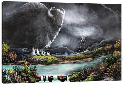 Thunder Butte Canvas Art Print