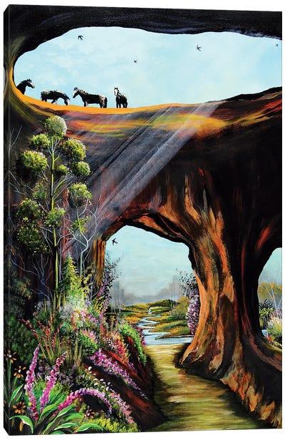 Unleashed Divinity Canvas Art Print
