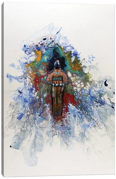 Good And Beautiful Woman Canvas Art Print