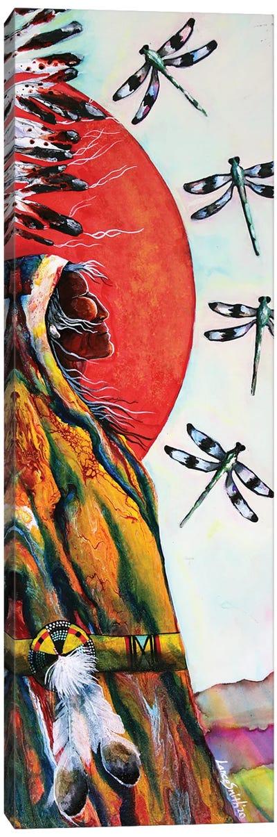 Twin Dragon II Canvas Art Print