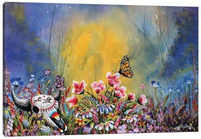 Paula's Garden Canvas Art Print