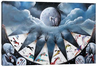 Spirit Song Canvas Art Print