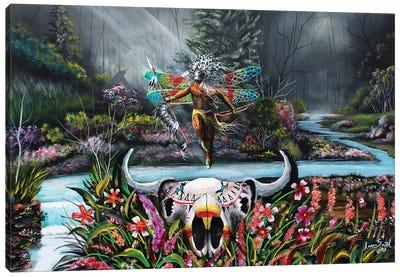 Warriors Light Canvas Art Print