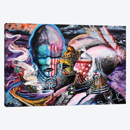 Mystical Cleansing Canvas Print #RDB38} by Red Bird Smith Art Canvas Print