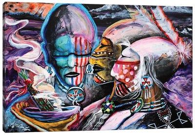 Mystical Cleansing Canvas Art Print