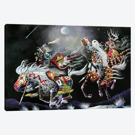 Moon Dancers Canvas Print #RDB49} by Red Bird Smith Art Canvas Art