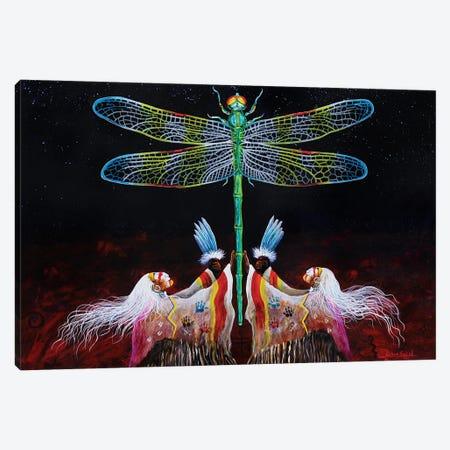 Creator's Breath Canvas Print #RDB4} by Red Bird Smith Art Canvas Wall Art