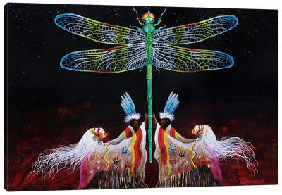 Creator's Breath Canvas Art Print