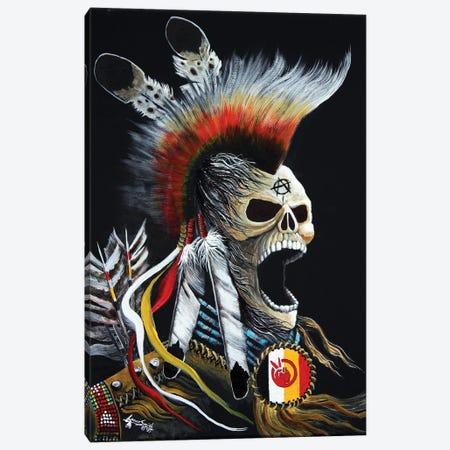 Ancestral Rage Canvas Print #RDB52} by Red Bird Smith Art Art Print