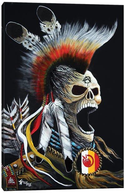 Ancestral Rage Canvas Art Print