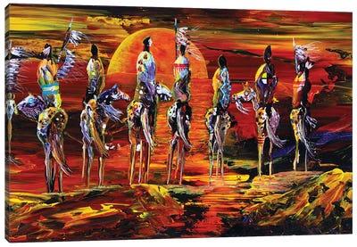 Sundogs Canvas Art Print