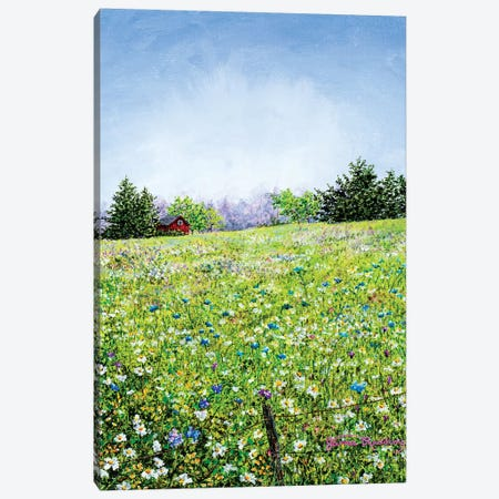 Rise and Shine Canvas Print #RDD11} by James Redding Art Print