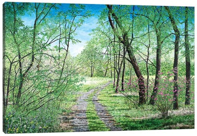 Spring's Poetry Canvas Art Print