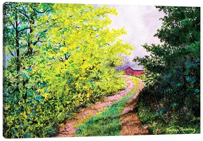 Almost Summer Canvas Art Print