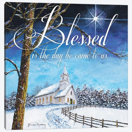 Blessed Church Canvas Print #RDD20} by James Redding Canvas Art