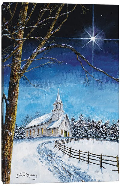 Bright Star Canvas Art Print
