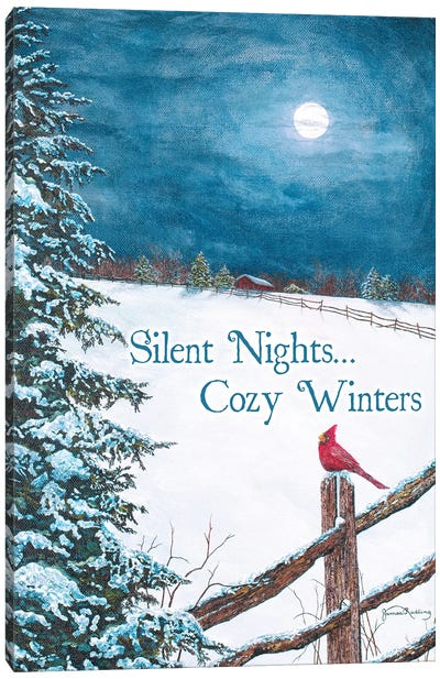Cozy Winters Canvas Art Print