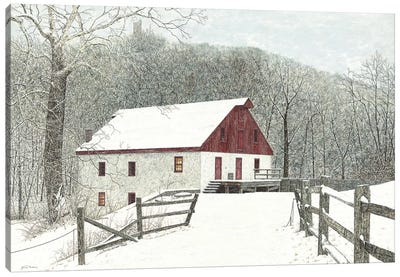 Grist Mill Canvas Art Print