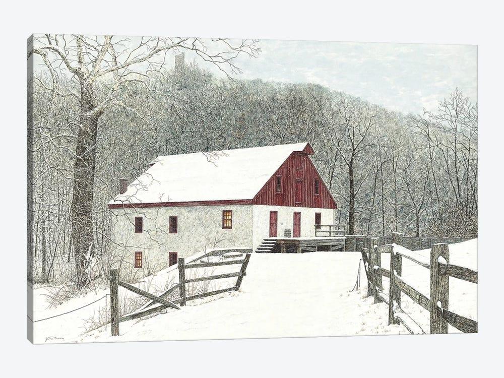 Grist Mill by James Redding 1-piece Canvas Art Print
