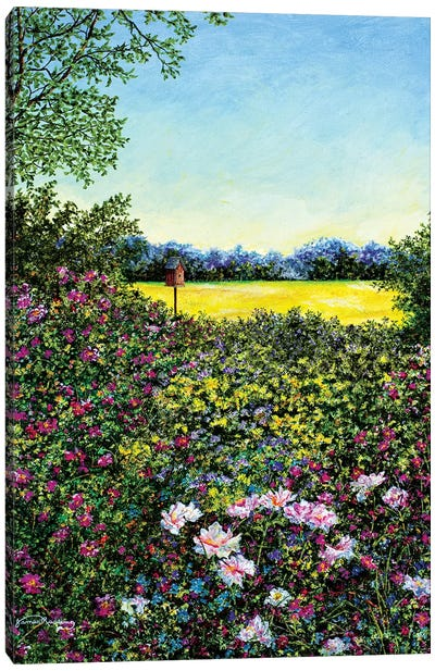 Along The Meadows Edge Canvas Art Print